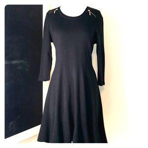 Ivanka dark green sweater dress